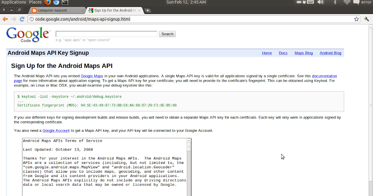 Keytool google maps api | Blog