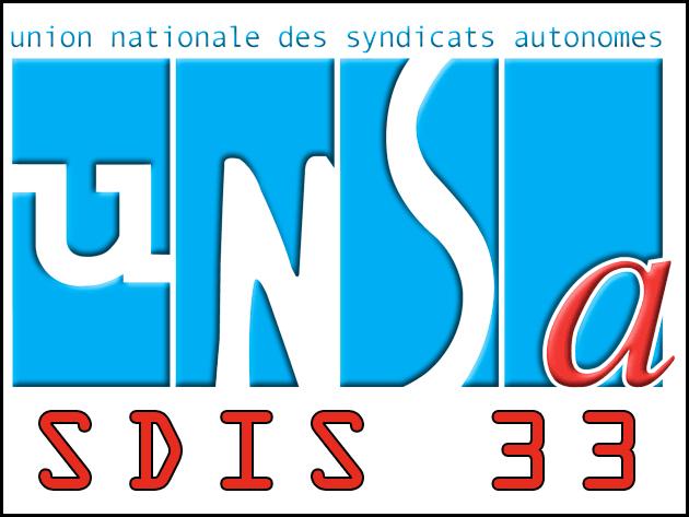 Création de l'UNSA SDIS 33