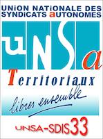 L'UNSA-SDIS33 reçue par le Président et le Directeur du SDIS33