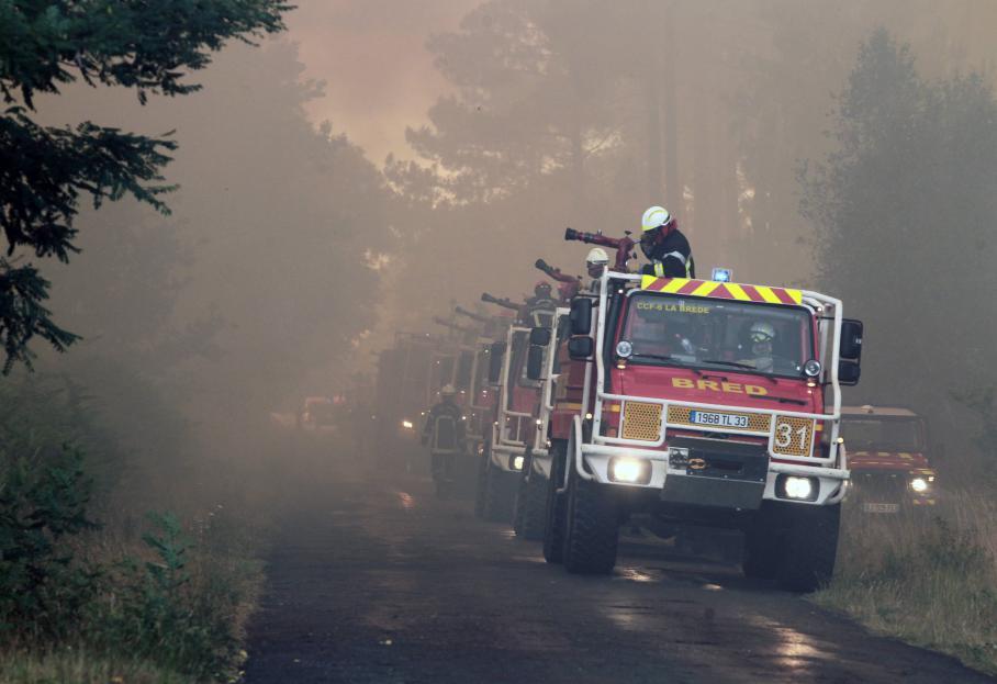 Récupération des heures effectuées lors des maintiens de service en périodes de risque feu de forêt modéré, sévère ou exceptionnel