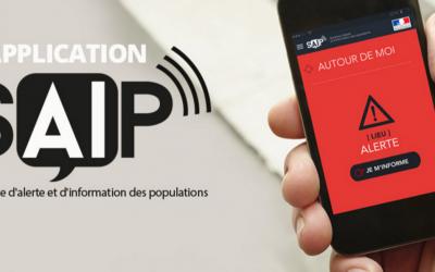 L'application SAIP «Système d'Alerte et d'Information des Populations»