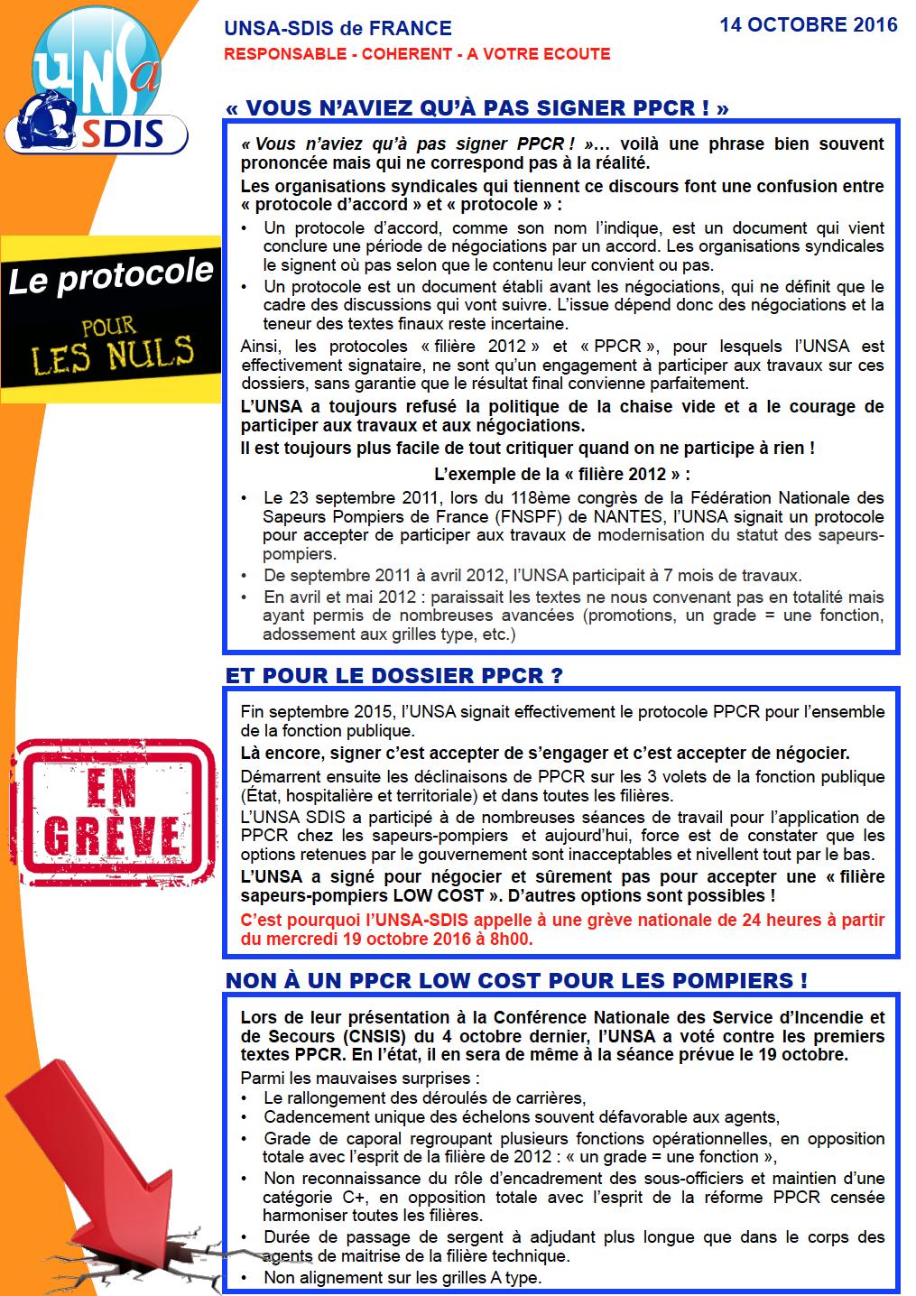 Pr cisions et explications sur la gr ve nationale du - Chambre nationale des huissiers de justice resultat examen ...