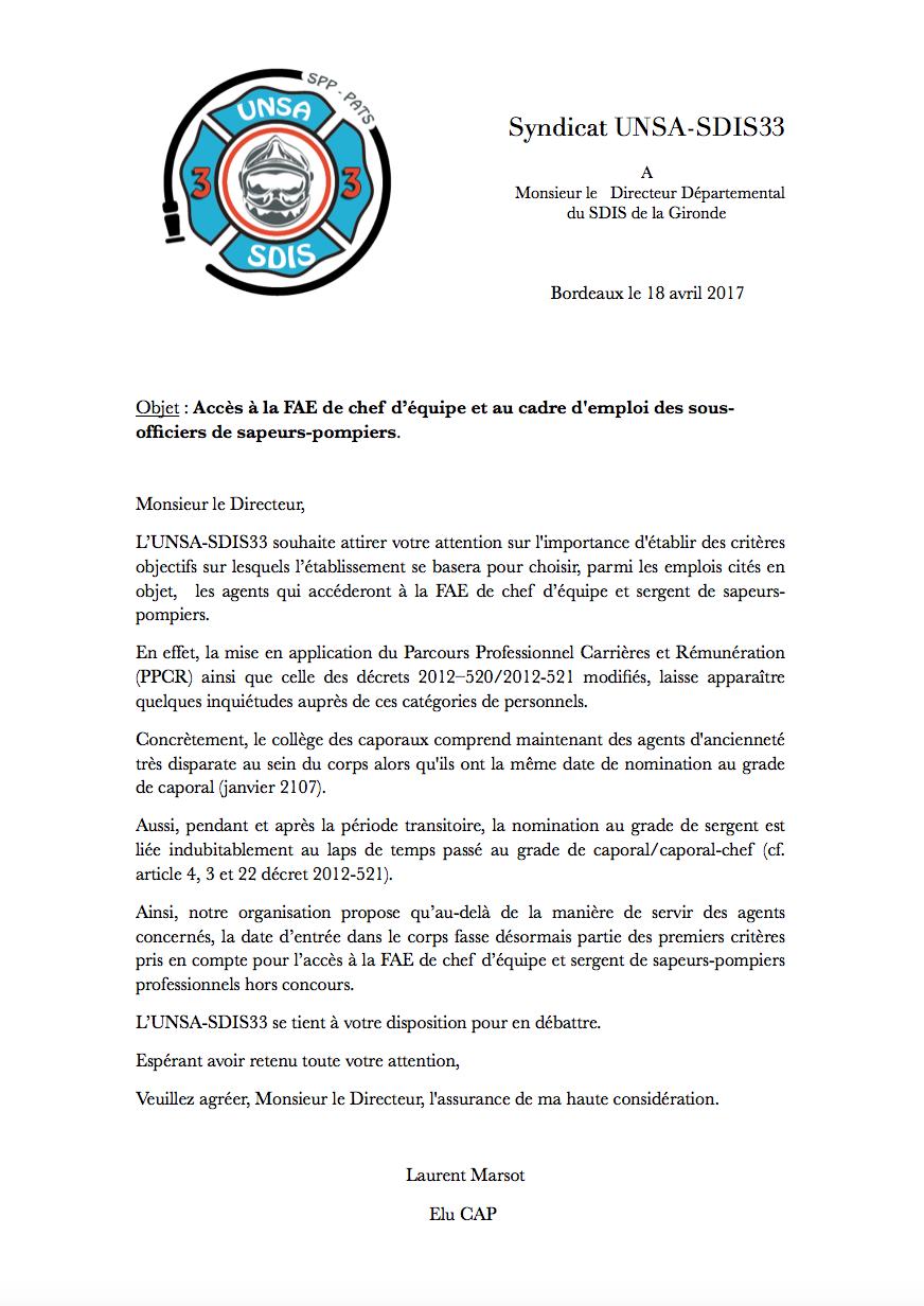 foto de caporaux Archives - UNSA-SDIS33