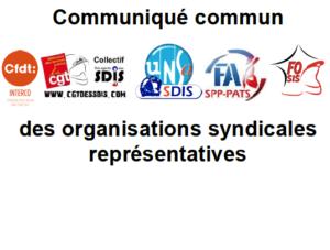 Filière SPP : communiqué commun des organisations syndicales représentatives